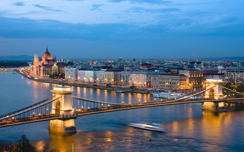 Budapest-Night-Cityscape